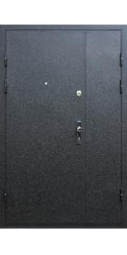 Тамбурная двухстворчатая дверь с электозамком «LOB» и доводчиком.