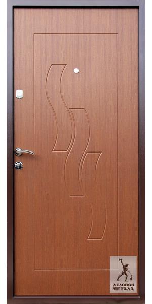 Фото металлической входной двери производства ООО Деловой металл Арт. Г-46
