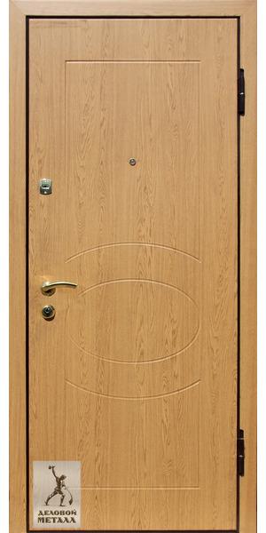 Фото металлической входной двери производства ООО Деловой металл Арт. Д-75