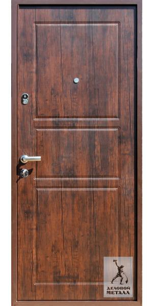 Фото металлической входной двери производства ООО Деловой металл Арт. И-69