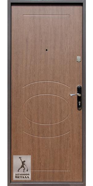 Фото металлической входной двери производства ООО Деловой металл Арт. К-11
