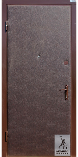 Фото металлической входной двери производства ООО Деловой металл Арт. Ш-66