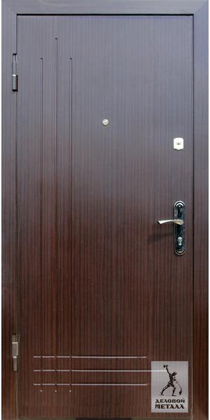 Фото металлической входной двери производства ООО Деловой металл Арт. Р-15