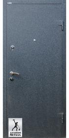 Фото металлической входной двери производства ООО Деловой металл Арт. У-32