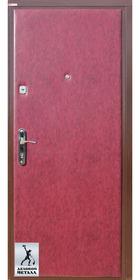 Фото металлической входной двери производства ООО Деловой металл Арт. Ч-61
