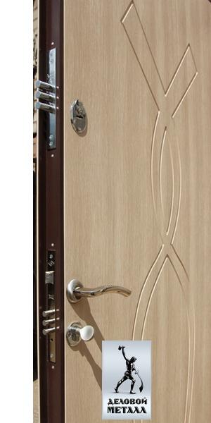 Фото металлической входной двери производства ООО Деловой металл Арт. Э-97