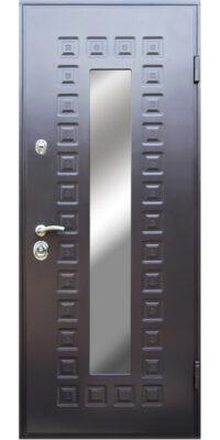 Входная дверь со стеклом ДМС-703