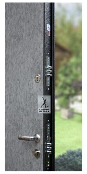 Замок металлической входной двери в квартиру или дом ДМГ-104
