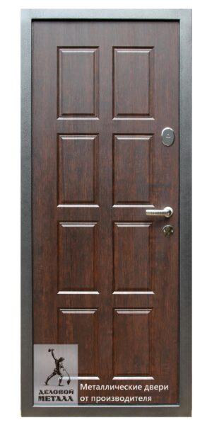 Обратная сторона стальной входной двери ДМГ-105