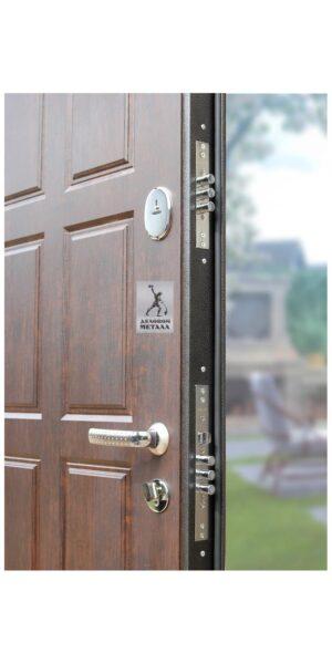 Замок стальной входной двери ДМГ-105