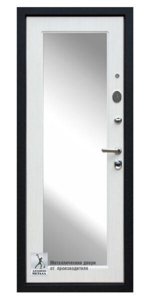 Дверь ДМГ-209 с внутренней МДФ панелью со встроенным зеркалом