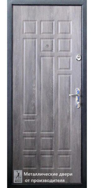 Обратная сторона двери в квартиру ДМС-155
