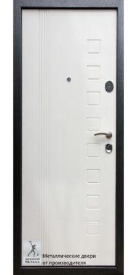 Дверь ДМС-201 с двухсторонней отделкой МДФ панелями