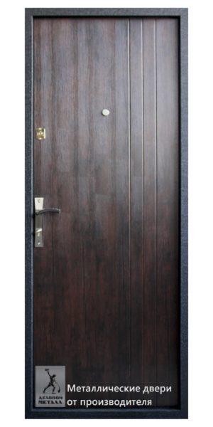 Обратная сторона двери в квартиру ДМС-400