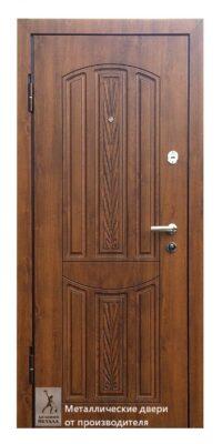 Металлическая дверь в дом и квартиру ДМС-501 с автоматическим запиранием