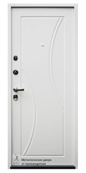 Внутренняя сторона металлической двери ДМС-505