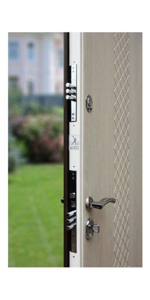 Замки двери металлической для квартиры ДМС-507