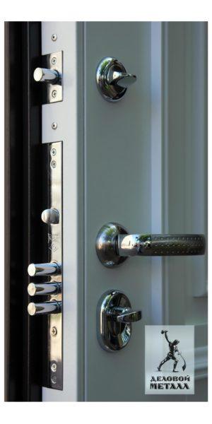 Нижний замок двери в квартиру ДМС-704