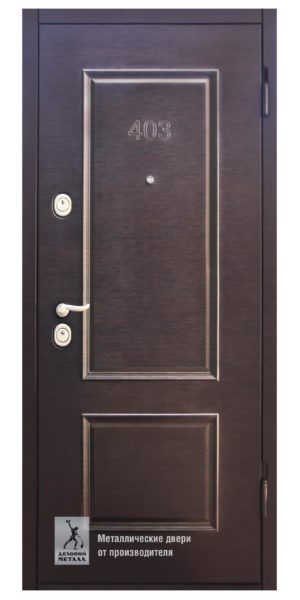 Дверь входная металлическая в квартиру ДМС-705