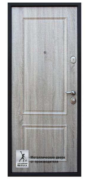 Обратная сторона двери металлической в квартиру ДМС-705