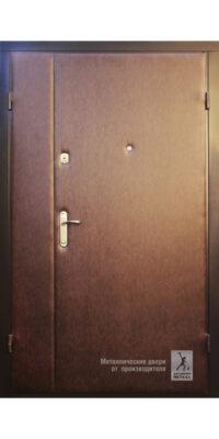 Металлическая двустворчатая дверь ДМС-800