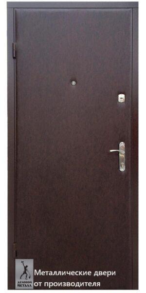 Входная металлическая дверь в квартиру Старт с отделкой экокожей и ЛДВП