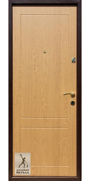 Внутрення сторона металлической двери Арт. Д-75
