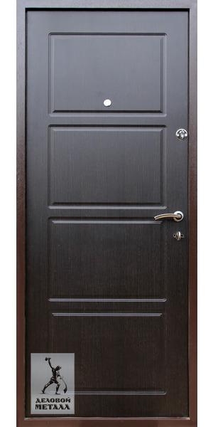 Внутренняя сторона металлической входной двери Арт. И-36