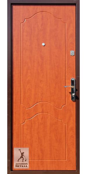 Дверь Ч61 - вид внутренней стороны