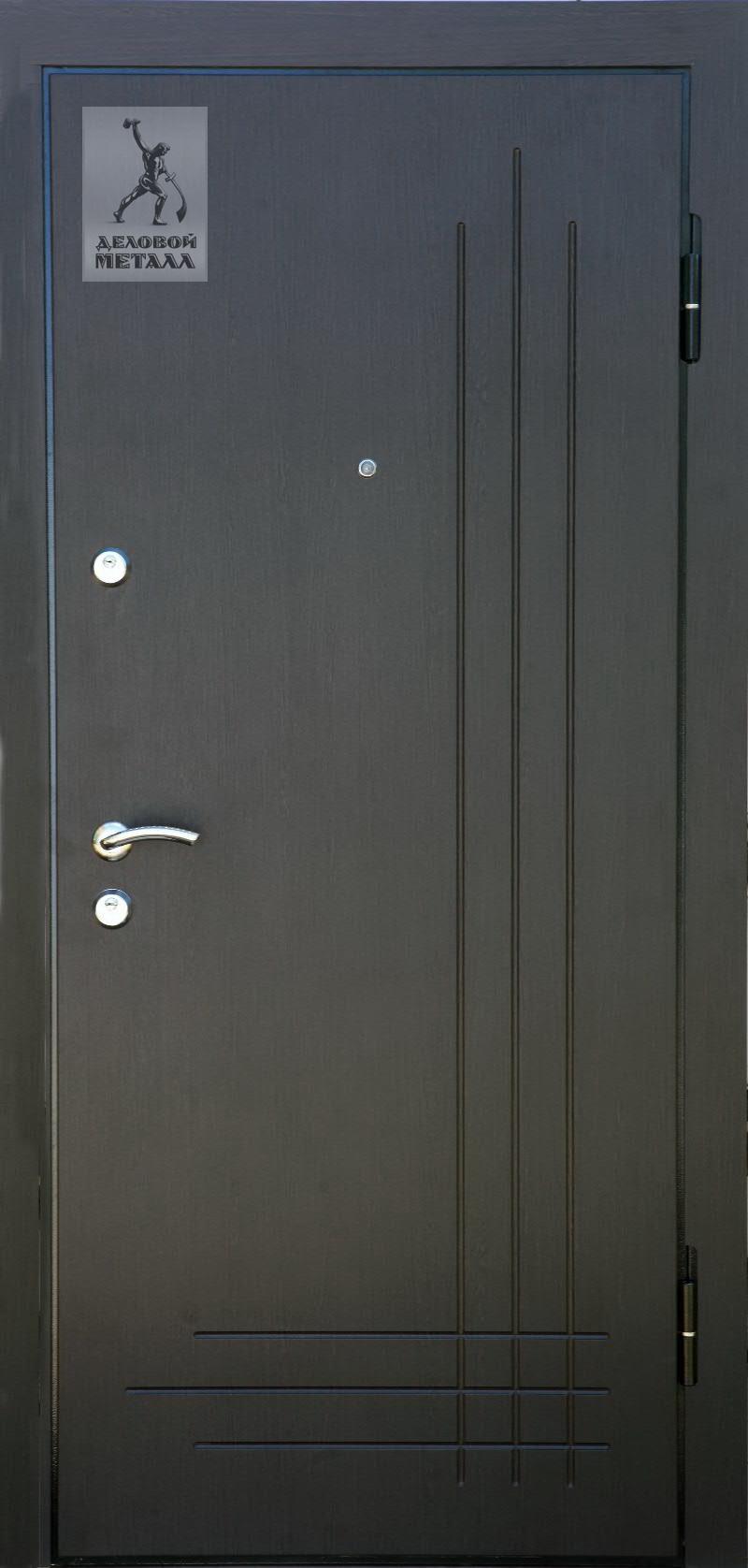Дверь с МДФ